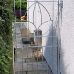 Made-to-measure garden gate by Dain Art Iron of Ayrshire