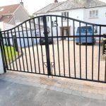 Heavy duty driveway gates, West Kilbride by Dain Art Iron.