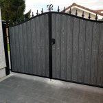 Metal and composite wood gates Dain Art Iron Ayrshire Scotland