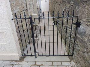 Garden gate in Ayrshire by Dain Art Iron