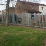 Low maintenance and secure metal fence by Dain Art Iron, Ayrshire, Scotland.