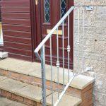 low maintenance decorative metal handrail by Dain Art Iron in Ayrshire Scotland