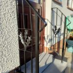 Custom metal handrails installed in Kilmarnock by Dain Art Iron