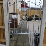 wrought iron garden gate by Dain Art Iron, Ayrshire