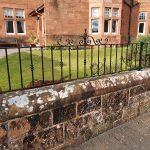 decorative metal wall rails by Dain Art Iron, Ayrshire Scotland.