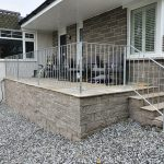 decorative handrail galvanized for low maintenance protection from rust