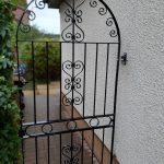 custom garden gate in Ayrshire by Dain Art Iron