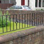 custom decorative wall rails by Dain Art Iron, Ayrshire Scotland.