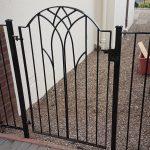 custom arched garden gate in Ayrshire