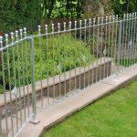 galvanized metal railings by Dain Art Iron, Ayrshire Scotland.