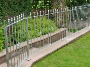 metal fencing in Ayrshire by Dain Art Iron