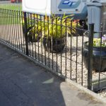 made-to-measure metal fencing by Dain Art Iron, Ayrshire Scotland.