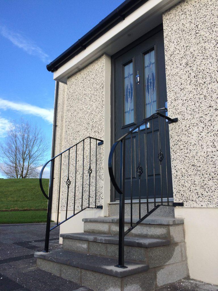 metal handrails, ayrshire, scotland
