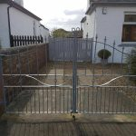 Professionally designed and fitted, these beautiful driveway gates really make a statement at this property in Ayr, Ayrshire. Galvanised for a long lasting, fuss free finish.