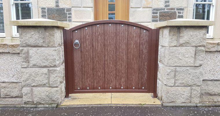 Composite Wood Gates
