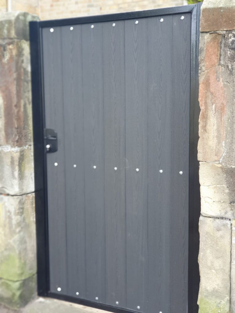 Composite side gate by Dain Art Iron in Ayrshire